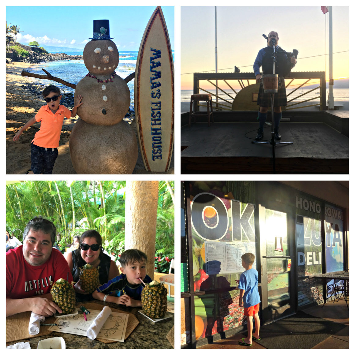 Best places to eat in Maui with kids - Well Traveled Kids