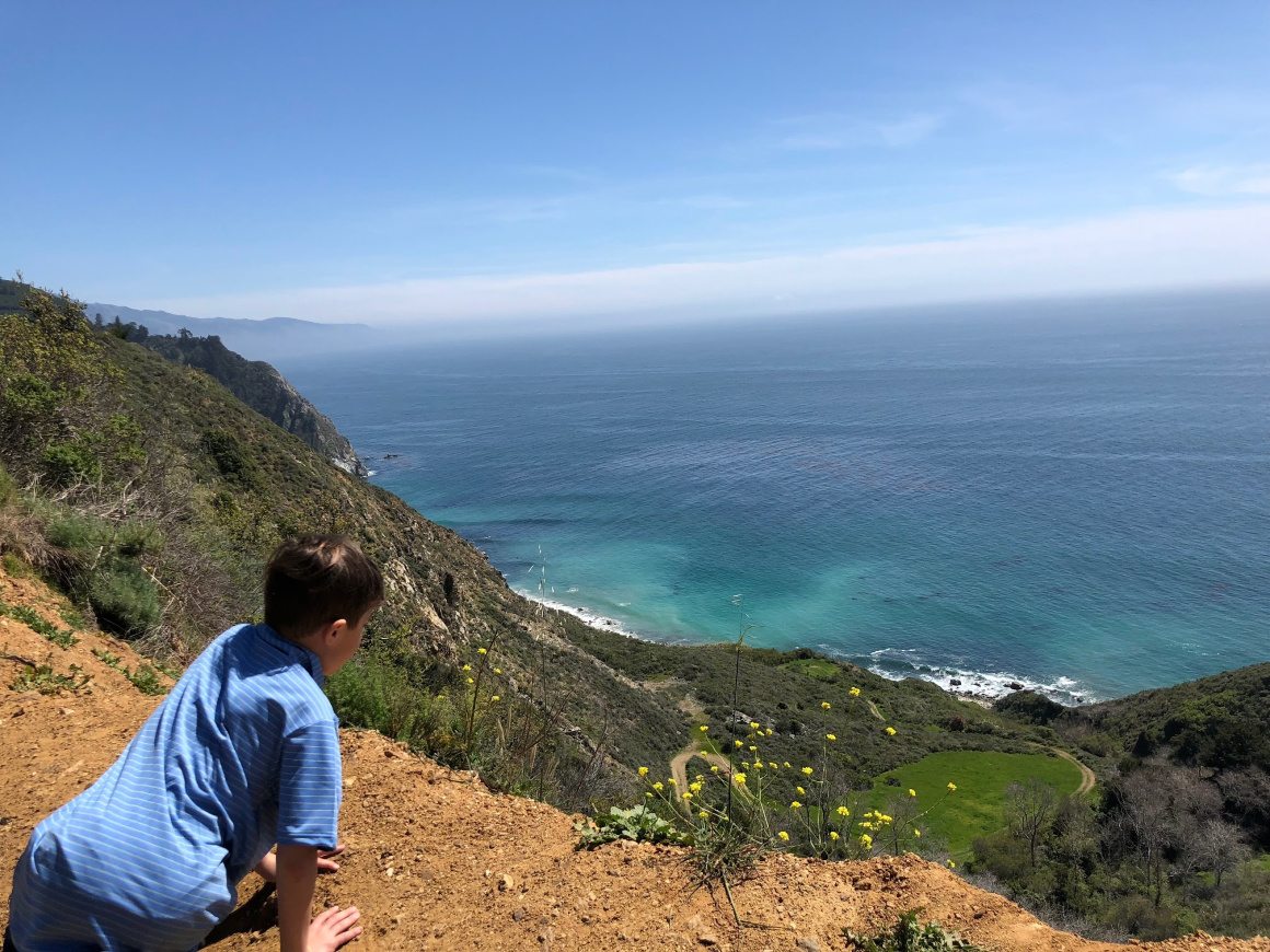 Big Sur with kids - Well Traveled Kids