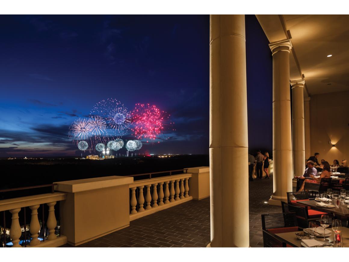 Best spot to watch Disney Fireworks