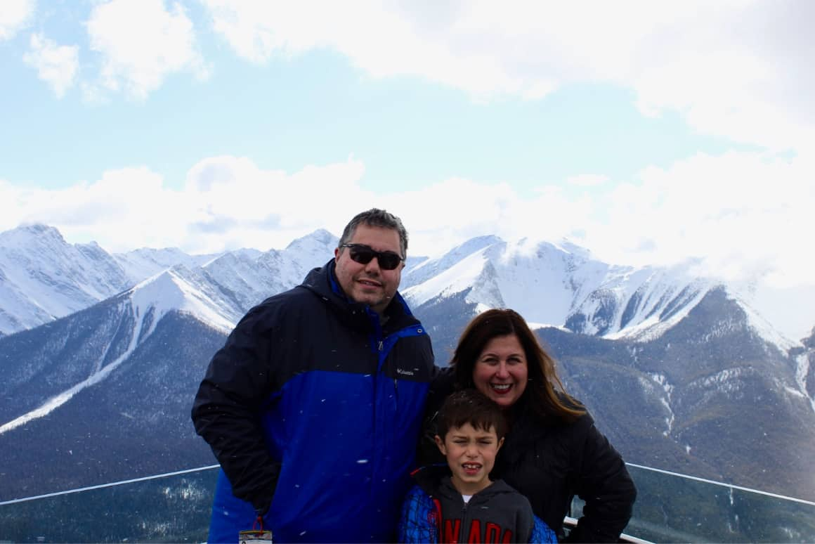 Family Dining in Banff National Park