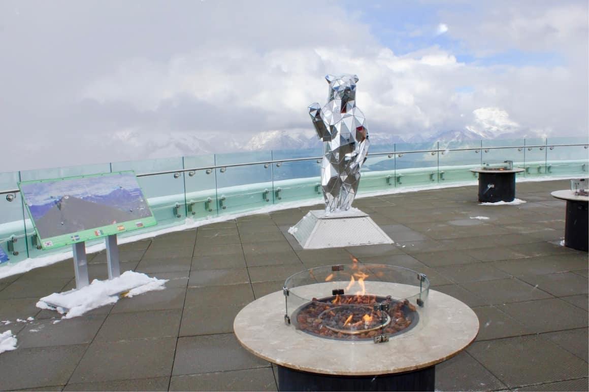 Highest restaurant in Banff