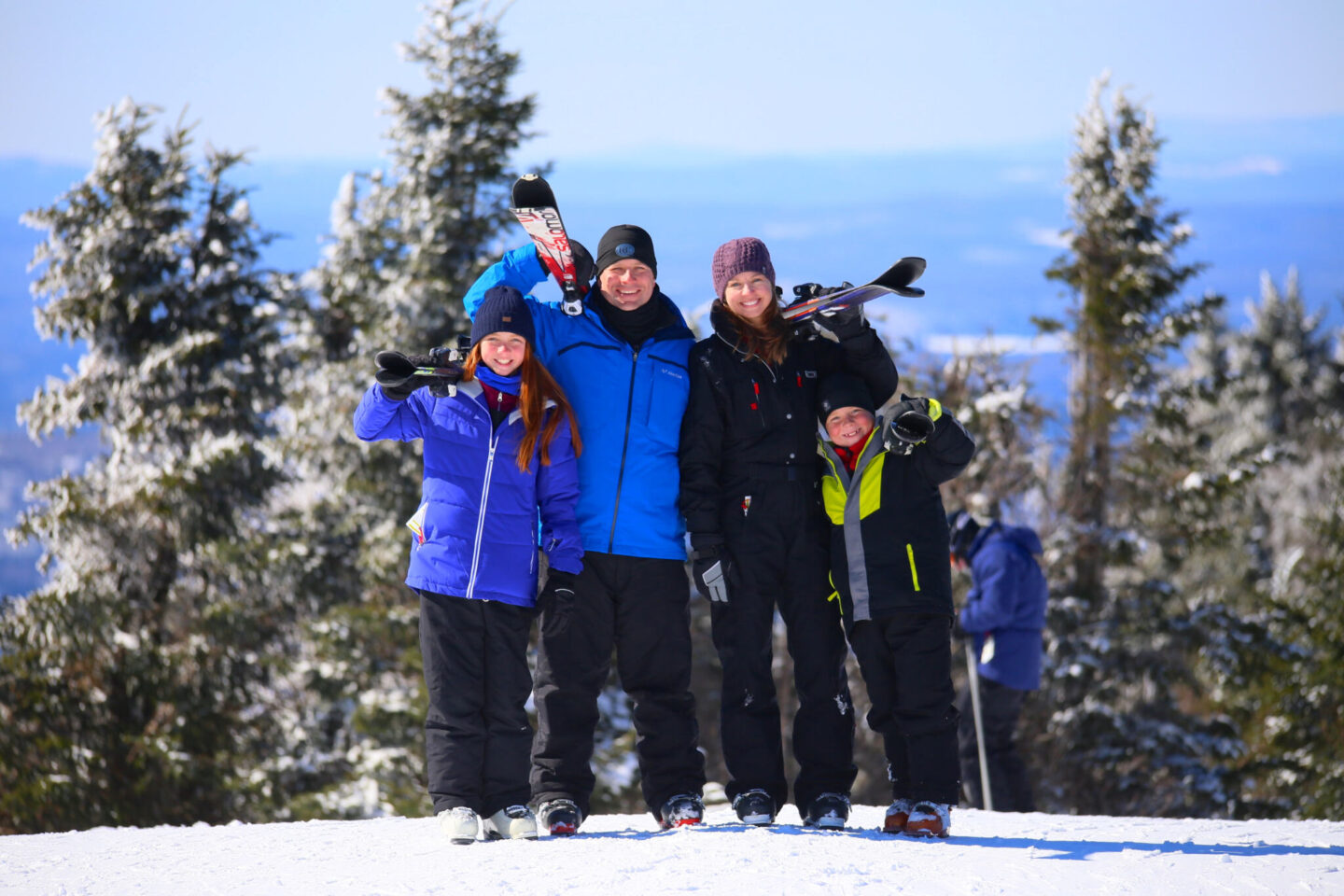 skiing Mont Tremblant with kids
