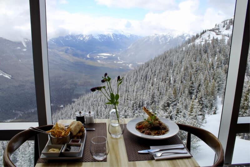 The Best Scenic Restaurant in Banff