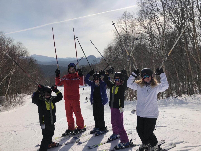 ski school in Mont Tremblant