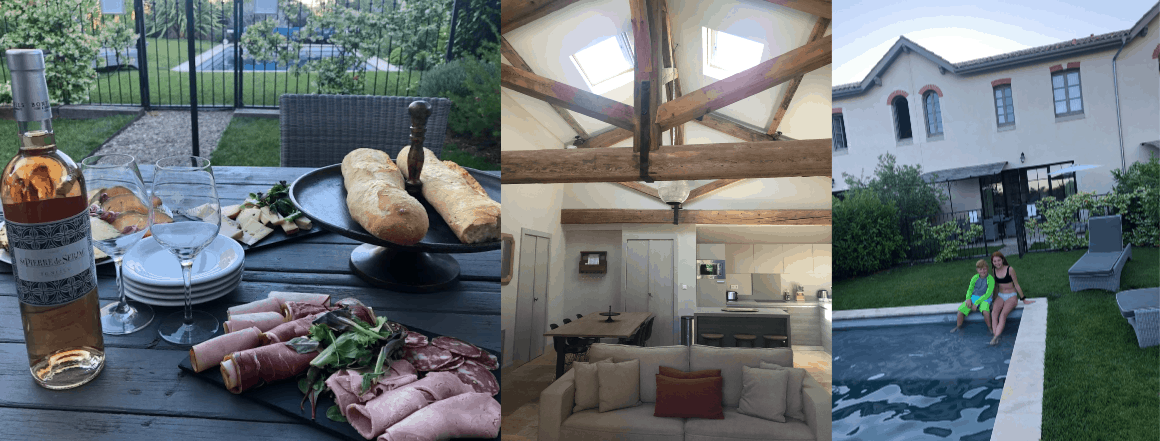 Renting a private villa in France with kids