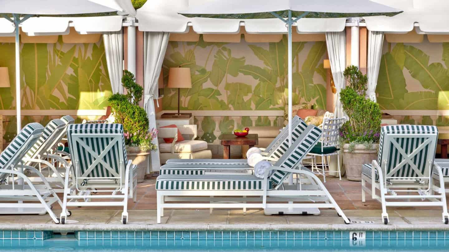 Best Luxury Resort Pool Cabanas for throwing an Epic Pool Party!